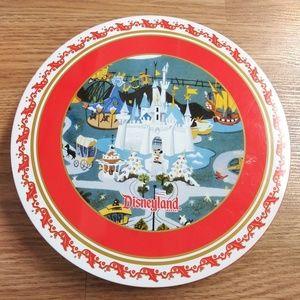 Disneyland 4 metal plate 2007